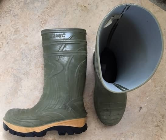 Pair of Cofra rubber boots