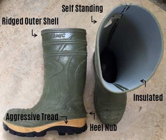 show features of boots