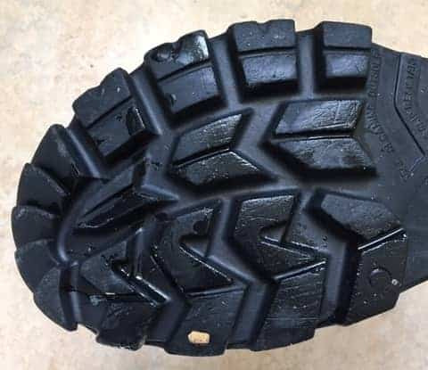 Tread of Cofra rubber boots